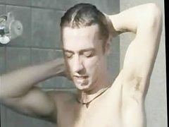 Bareback, Hot shower gonzo sex