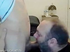 Bear sucking porn a twink and swallow