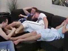 Toe sex Tickle Threesome HD xnxx www.LadsFeet.com