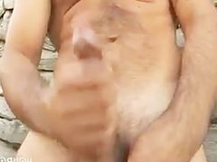 Muscled studs fucking gonzo around on the xxx farm