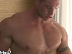 Hunks Bryce and Chris anal making fuck out part2
