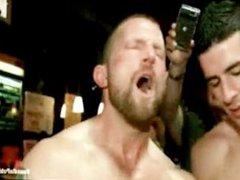 Gangbanged, sex humiliated in bar xnxx gay boy