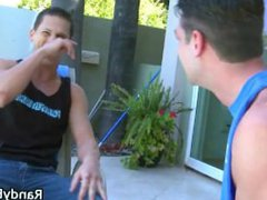Homo sex flicks of Andrew xnxx and Roman making out part1