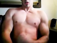 Muscular College Guy Shows anal off