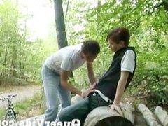 Forest sex Boys Part 1