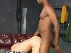 Bald black dude ramming anal some fuck part5