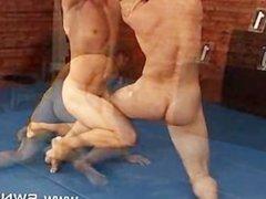 Slavek Kopr vs gonzo David Koral Nude xxx Male Submission Wrestling