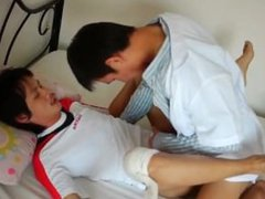 Dr twink fuck gonzo his asian patient xxx on doggystyle