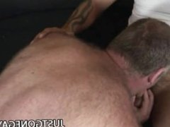 Nasty DILF Bear Christian tube Volt galore Being Penetrated By Tattooed DILF Tom Colt
