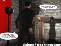 GAY BDSM NIGHTMARE! 3D tube Gay galore Cartoon Animated Comics Bondage S&M
