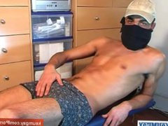 French arab straight guy anal get fuck wanked his very huge cock by a guy !