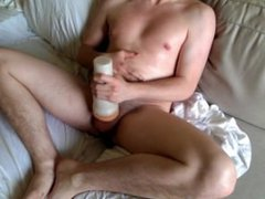 Masturbating sex with oils, fleshlight, xnxx and p spot massager
