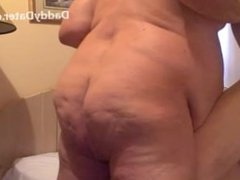 Bareback Daddy Chubby gonzo Fucking an Anon xxx Hookup met on DaddyDater