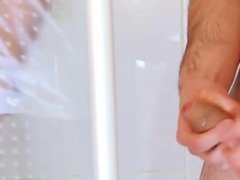 2 straight porn guys and the shower...