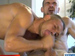 2 guys serviced them anal huge fuck cock in spite of them !