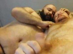 2 Danish - gonzo Young Hairy Guy xxx & Mature Daddy Guy (Bears Show 2)
