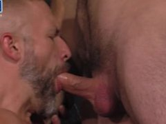Daddy Dirk slurps on anal the fuck Uncut Beauty of Foreskin Then Fucks His Hot Boy