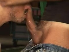 Kissing and porn spitting