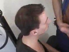 Cop fucks porn a leather hottie