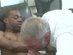 Hung Black Stud Fucks anal Daddy fuck with His Huge Cock