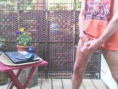 Outdoor wanking #1