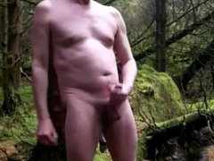 stripped naked in gonzo the woods