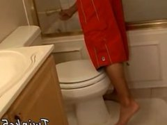 Xxx young gay gonzo cock movies In xxx The Bathroom With Boomer