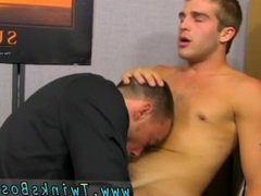 Gay fuck simultaneous anal tube Fucked galore by the New Office Guy
