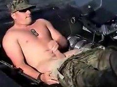 Marine Americano na punheta