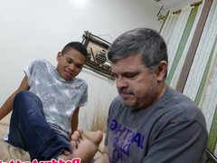 Toe licking dilf barebacked anal by fuck pinoy twink