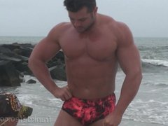 Beach sex Muscle Hunks