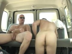 Eric goes on top tube of galore Tom and fucks hard anal