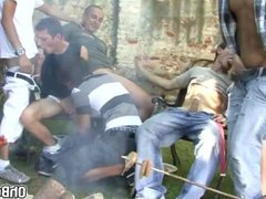 Barbeque sex party turns into xnxx wild sex party