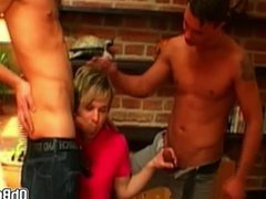 Twink double porn anal fucked by his hub best friends