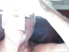 Condom ,play with gonzo cum