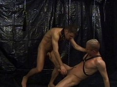 Fetish gay porn hunks asshole training