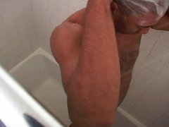 Jacking off fresh off anal the fuck shower