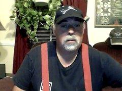 Jerking in Red Suspenders