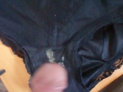 Cum in porn dirty Panty
