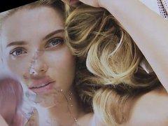 Scarlett Johannsson porn tribute facial cum pic hub close up