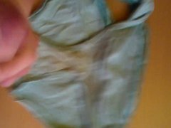Cum in porn friend's panties