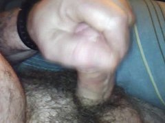 Playing with my cock anal in fuck my truck for my female friend
