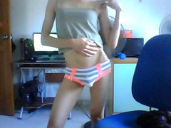 teen crossdresser getting naked