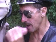 Uniform Daddies In gonzo Heat - Cop xxx & Leather Man