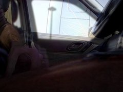 Trucker Flashing 11 - anal Caught fuck wanking by truckers