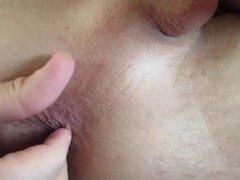 self ass porn fingering - anal fingering