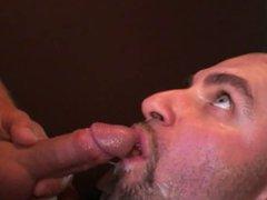 Cock slut swallows 50 anal loads fuck of cum