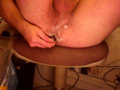 playing with my gonzo arse and my xxx cock and cumming