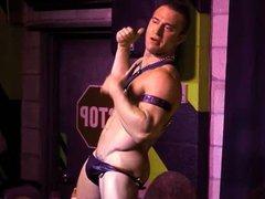 Pornstar JR Bronson live anal on fuck stage at BBJAM33