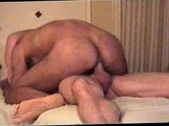 Hairy Ass Barebacked and anal Cream fuck Pie